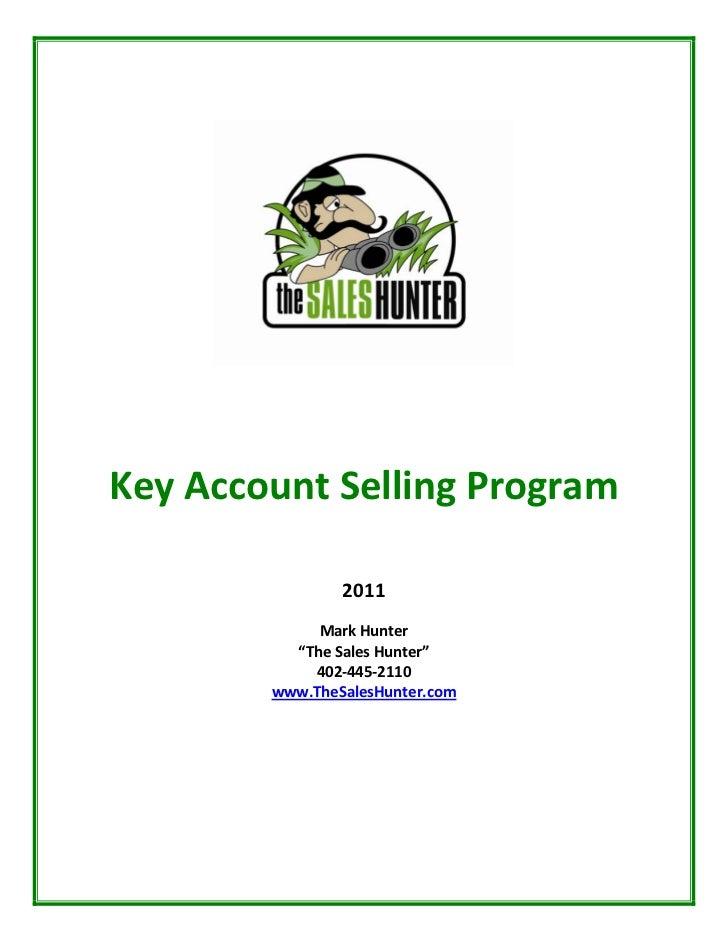 KeyAccountSellingProgram                                             ...