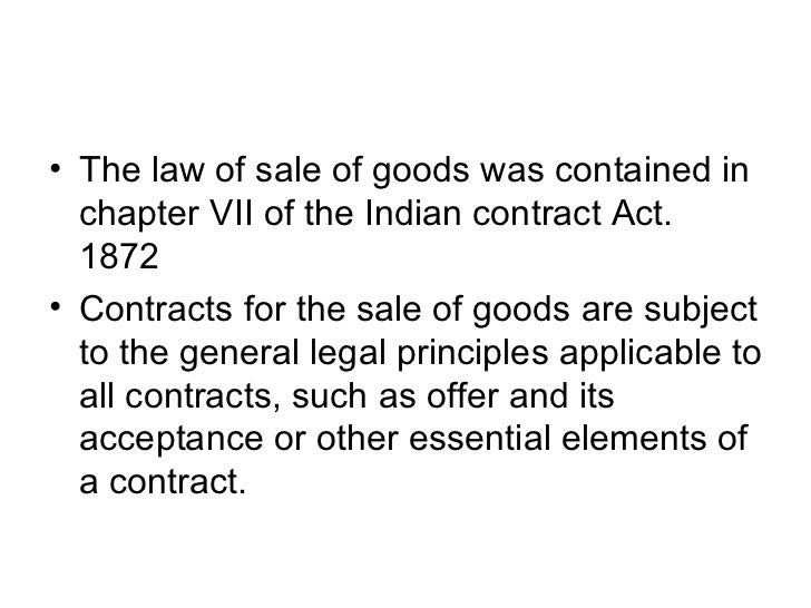 the sale of goods act 1930 Which of the following types of conditions and warranties are covered by the sale  of goods act, 1930 a express b implied c both (a) and (b.