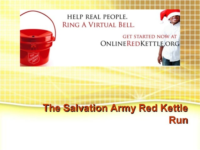 The Salvation Army Red Kettle Run
