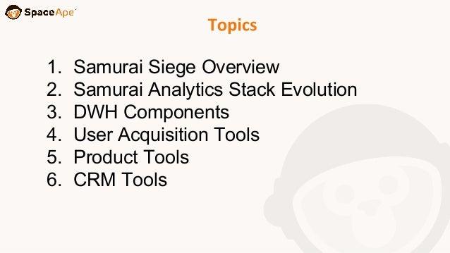 Space Ape's Analytics Stack Slide 2
