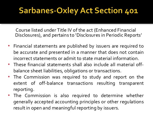 glass steagall act the sarbanes oxley act The glass-steagall act deregulation tendencies culminated in the revocation of the glass-steagall act in 1999 the sarbanes-oxley act came into existence in.