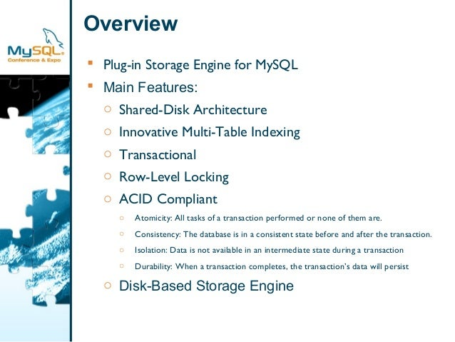 The scale db storage engine   enabling high performance and scalability using materialized views and a shared-disk clustering architecture presentation Slide 3