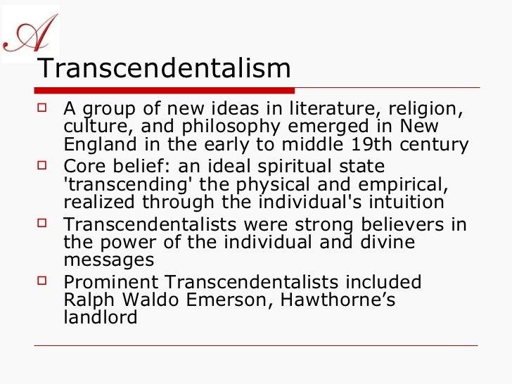 26f. Transcendentalism, An American Philosophy
