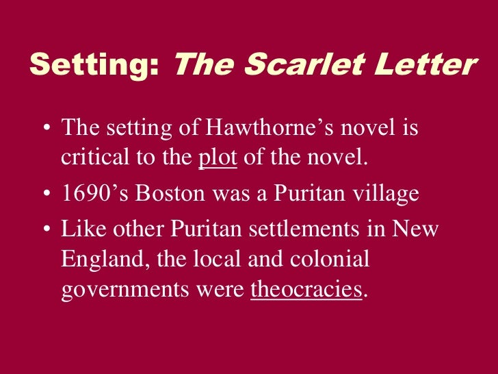hawthornes view of puritanism essay What is puritanism encarta online describes it as the : movement arising within the church of england in the latter part of the 16th century that sought to purify.