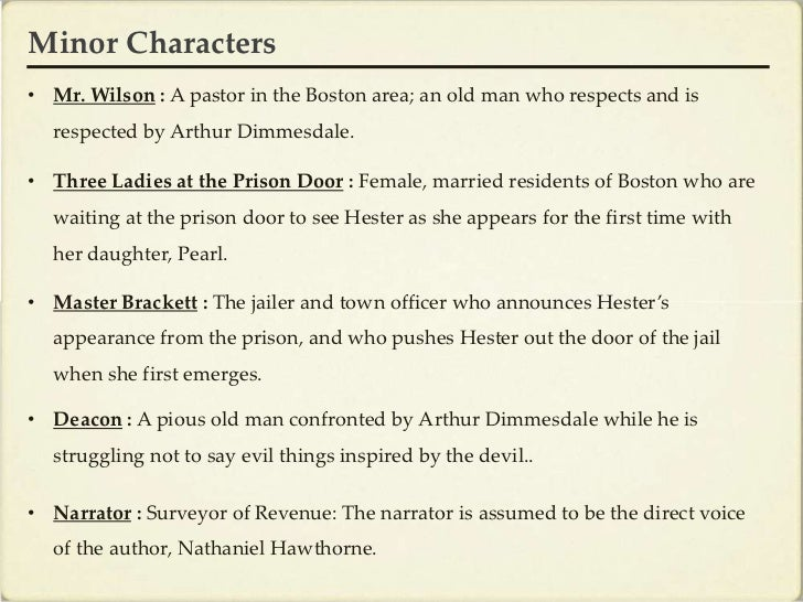 character of hester prynne in the scarlet letter