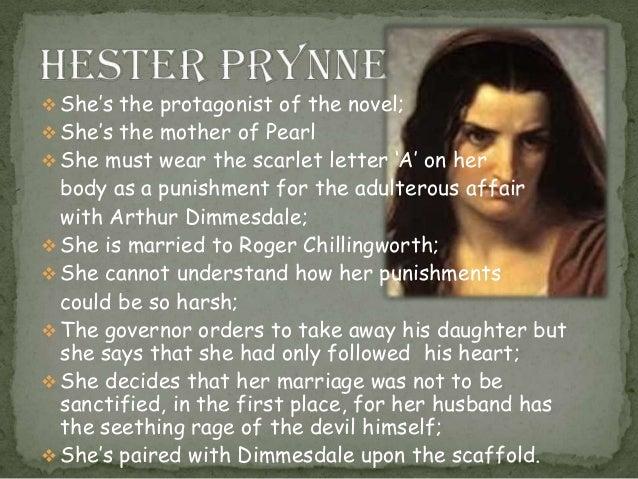 Nature Of Evil Scarlet Letter