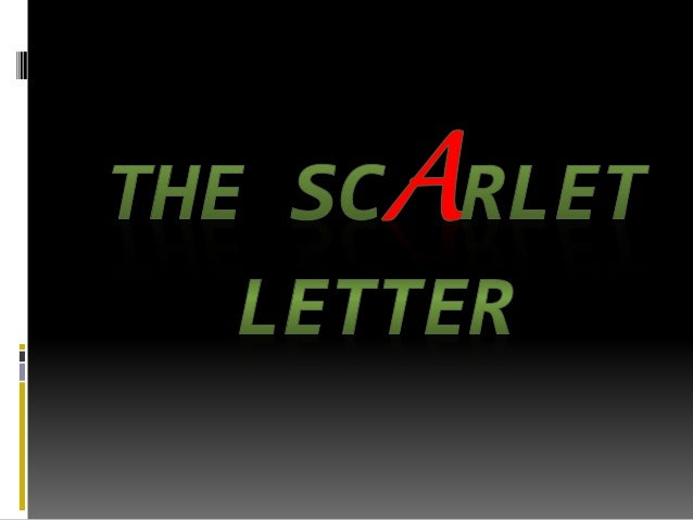 The scarlet letter introduction & historical background setting