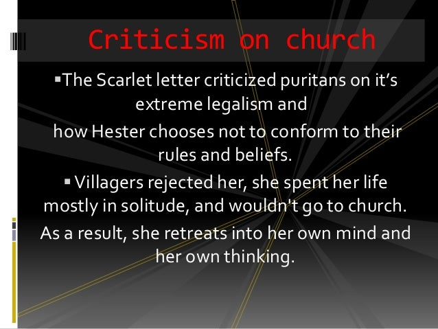 intro to scarlet letter essay