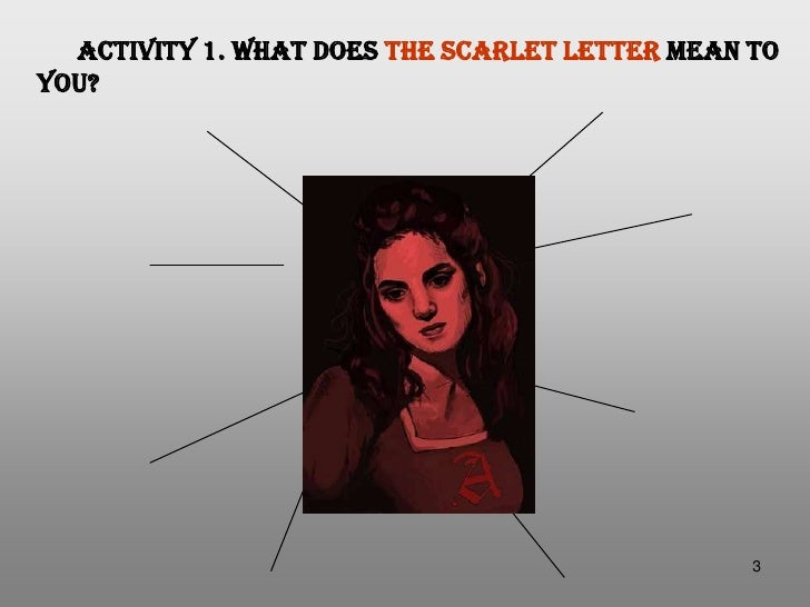 the scarlet letter compared to the It's no surprise the scarlet letter was adapted to a movie, and we can tell you exactly why it made the silver screen.