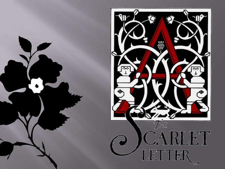 Symbolism Chart Scarlet Letter