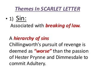 The scarlet letter (themes & symbols)