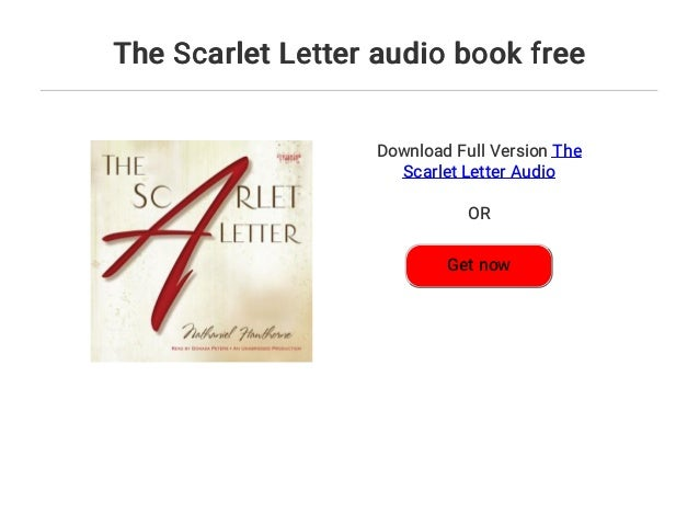 the scarlet letter audio