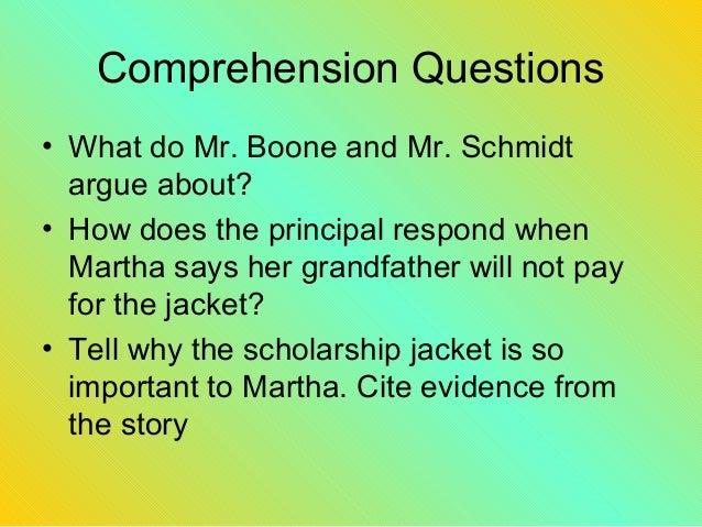 The Scholarship Jacket