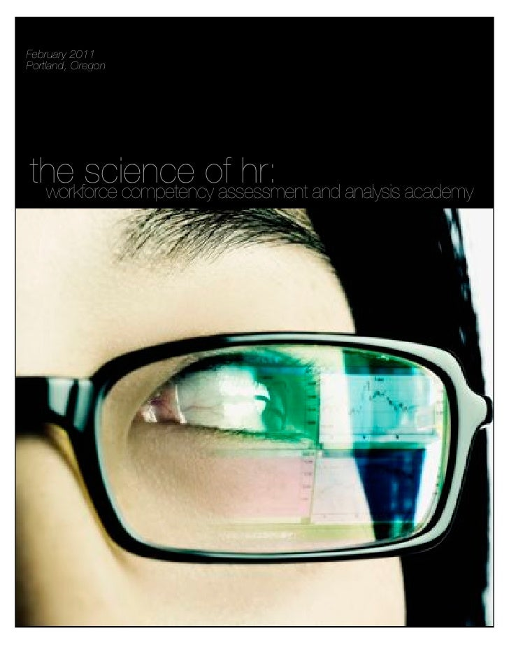 The Science of HR: Workforce Competency Assessment and Analysis Academy