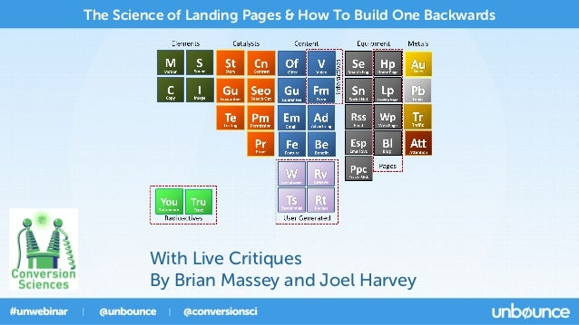The Science of Landing Pages & How To Build One Backwards  With Live Critiques By Brian Massey and Joel Harvey