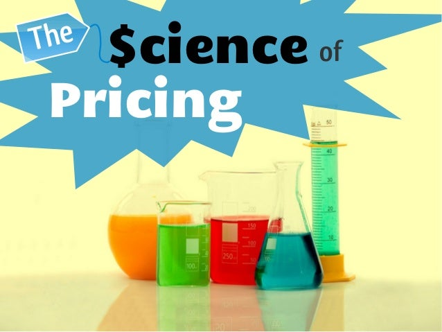 $cience ofThe Pricing