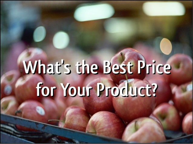 The Science of Pricing: Pricing Strategies to Increase Sales Slide 2