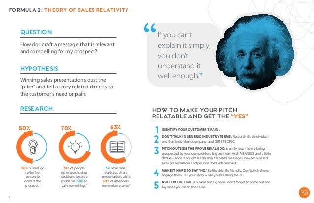 The Science of Sales  Slide 3