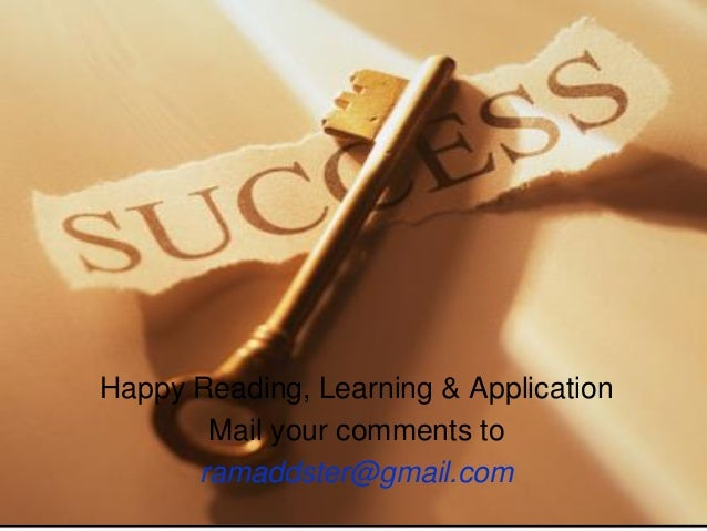 Summary -The Science Of Success