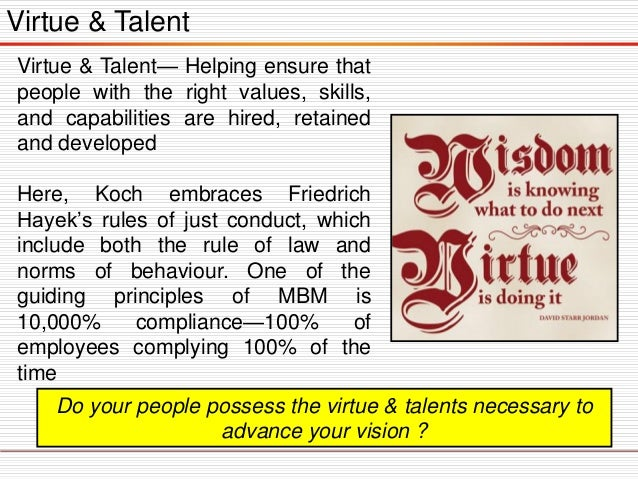 Virtue & Talent Virtue & Talent— Helping ensure that people with the right values, skills, and capabilities are hired, ret...
