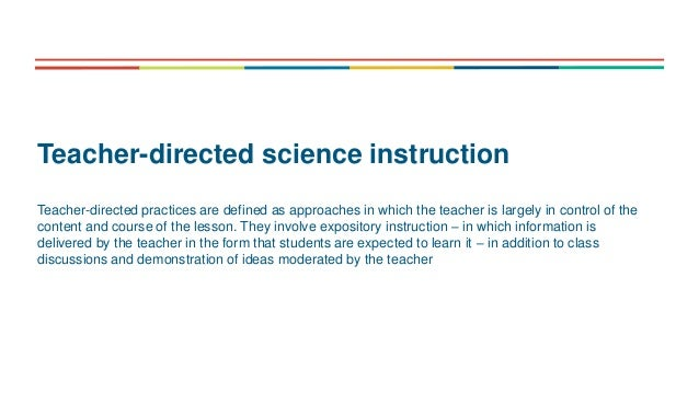 The science of teaching science - an exploration of science