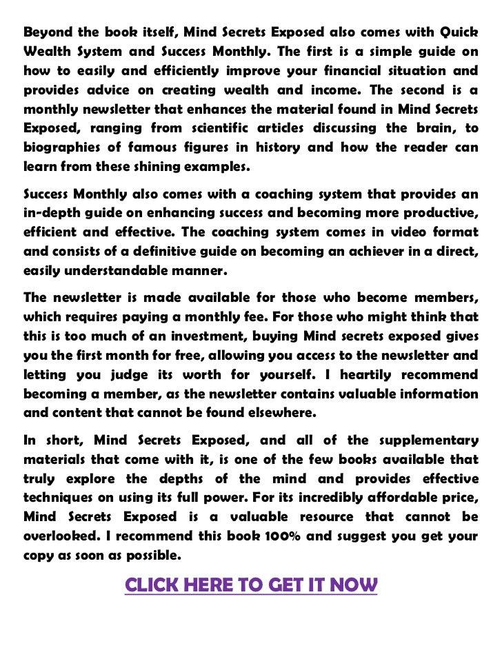secrets of getting rich pdf