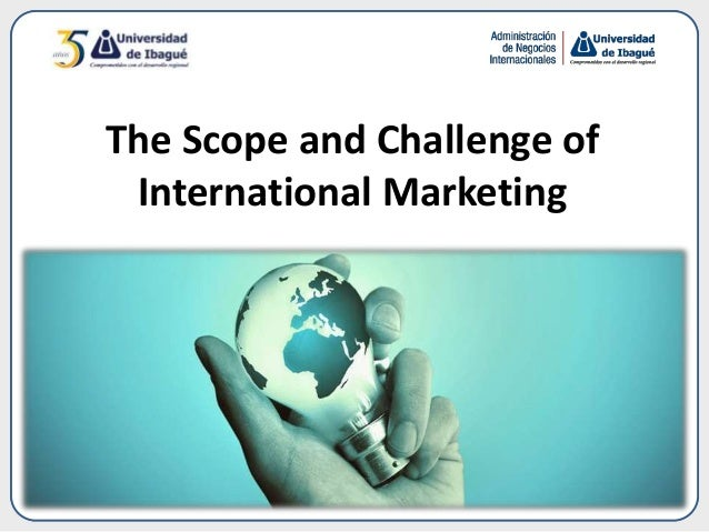 challenges of international marketing The global marketplace we live in has many inherent advantages, and a few   bridging the great divide: challenges in international marketing.