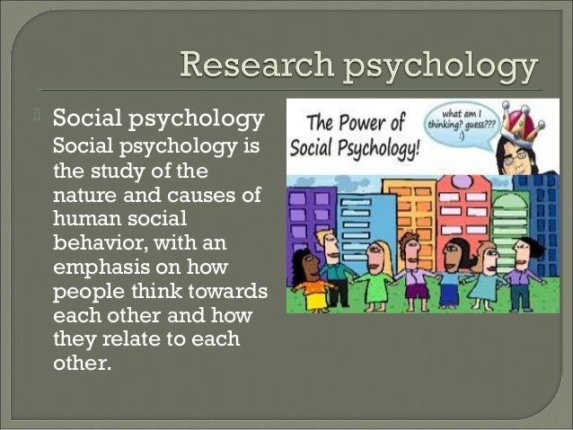 Psychology - Nature and Scope