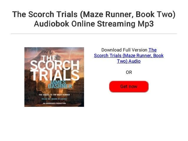 Scorch Trials Stream