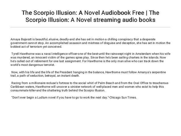 The Scorpio Illusion: A Novel Audiobook Free | The Scorpio