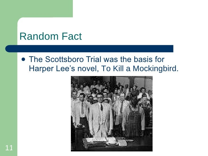 scottsboro boys in to kill a Scottsboro trial - history of the scottsboro boys - a summary of the incident, the trial, and its aftermath american experience - primary sources: the first days - excerpts from an article.