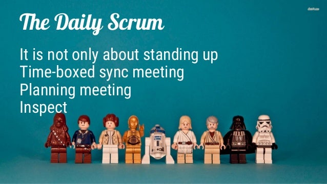 The Daily Scrum (The Scrum Events) Slide 2