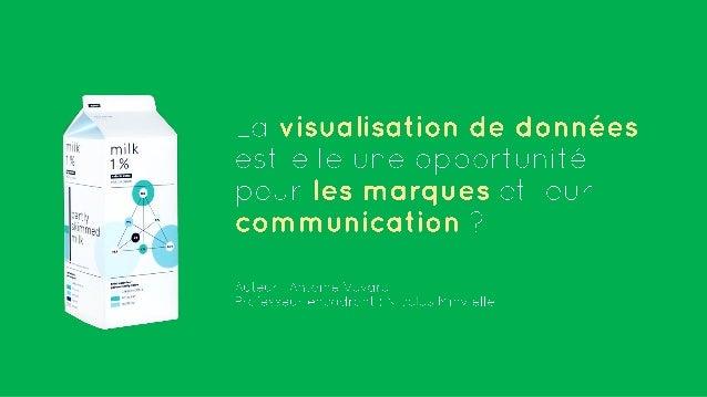 Architecture de l'information  Design d'information  Visualisation de données