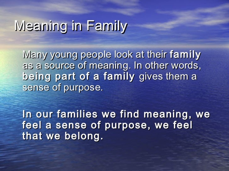 the meaning of family Reflect on the meaning of family with spoken word poet, aaron and viergeni white watch now at lightworkerscom.