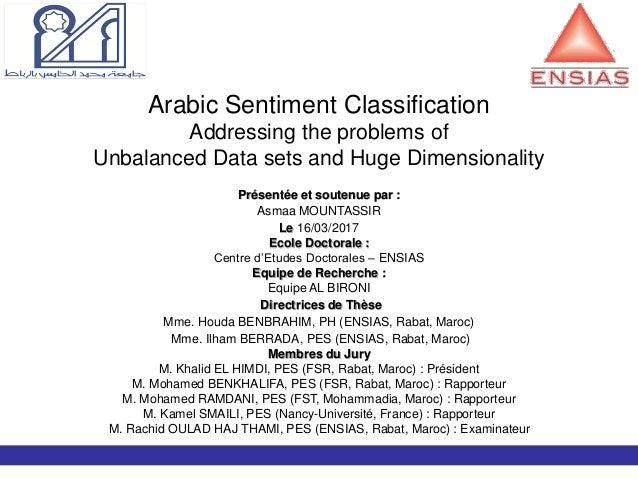 Arabic Opinion Mining - Thesis
