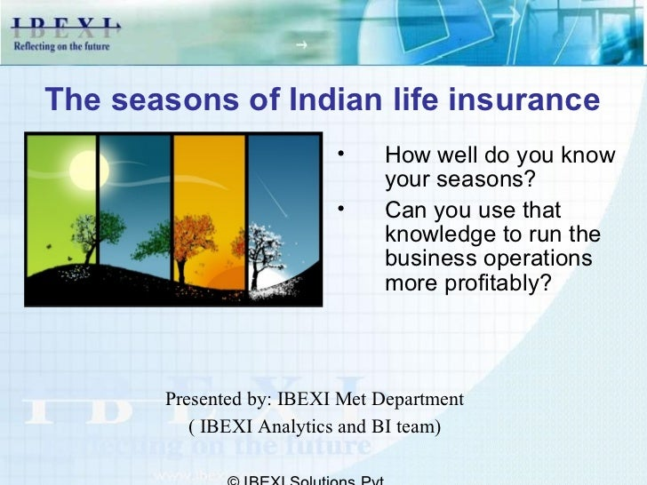The seasons of Indian life insurance                          •    How well do you know                               your...