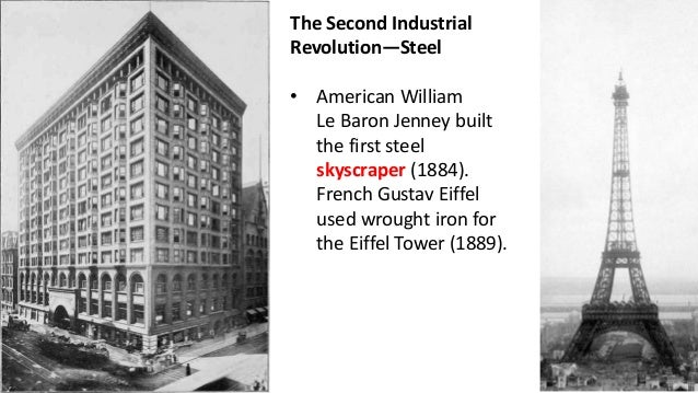 results of the second industrial revolution in the united states 4-3-2006 a third industrial revolution is now making its appearance in the united states and other industrial countries, writes hans sennholz.