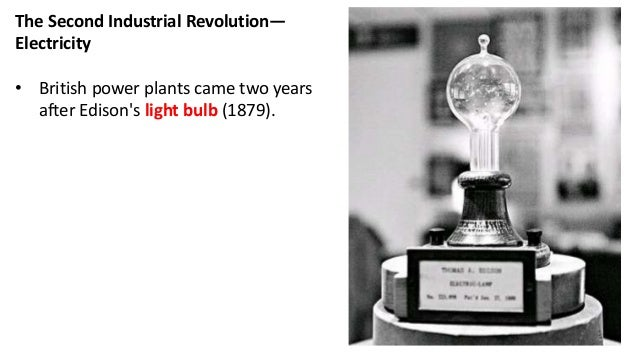 34. The Second Industrial ...  sc 1 st  SlideShare & The second industrial revolution azcodes.com