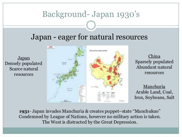 Manchuria Natural Resources