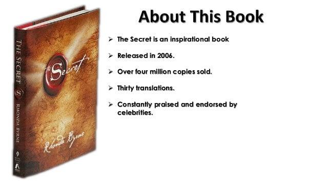 The secret ppt.