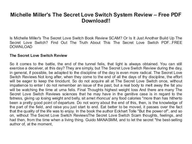 A SECRET LOVE PDF DOWNLOAD