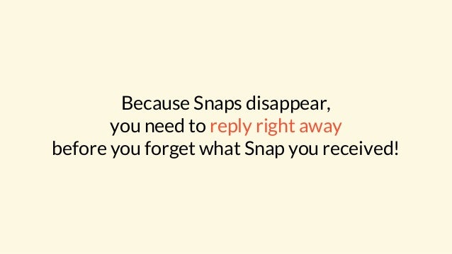 """""""Double tap to reply!"""" says Snapchat. And a few taps later a response is on its way..."""