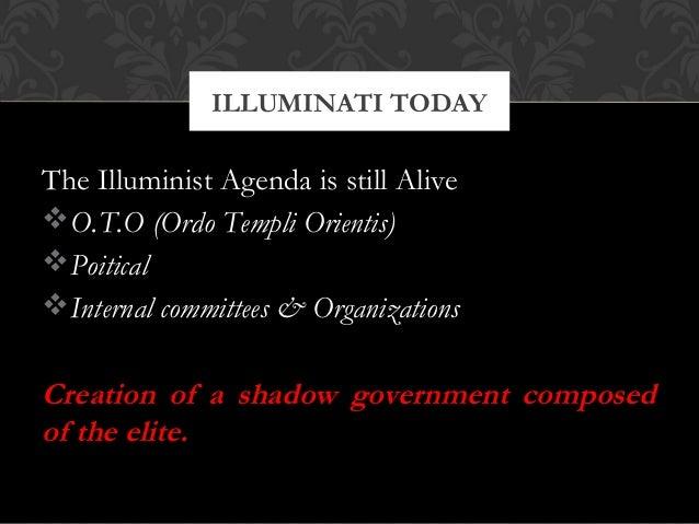 The Illuminist Agenda is still AliveO.T.O (Ordo Templi Orientis)PoiticalInternal committees & OrganizationsCreation of ...