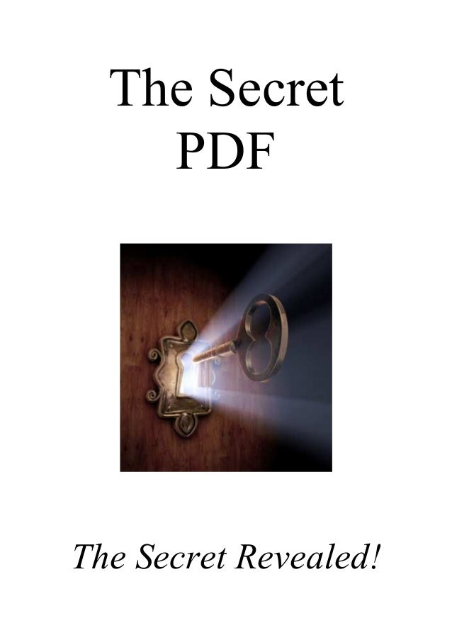 The Secrets Pdf
