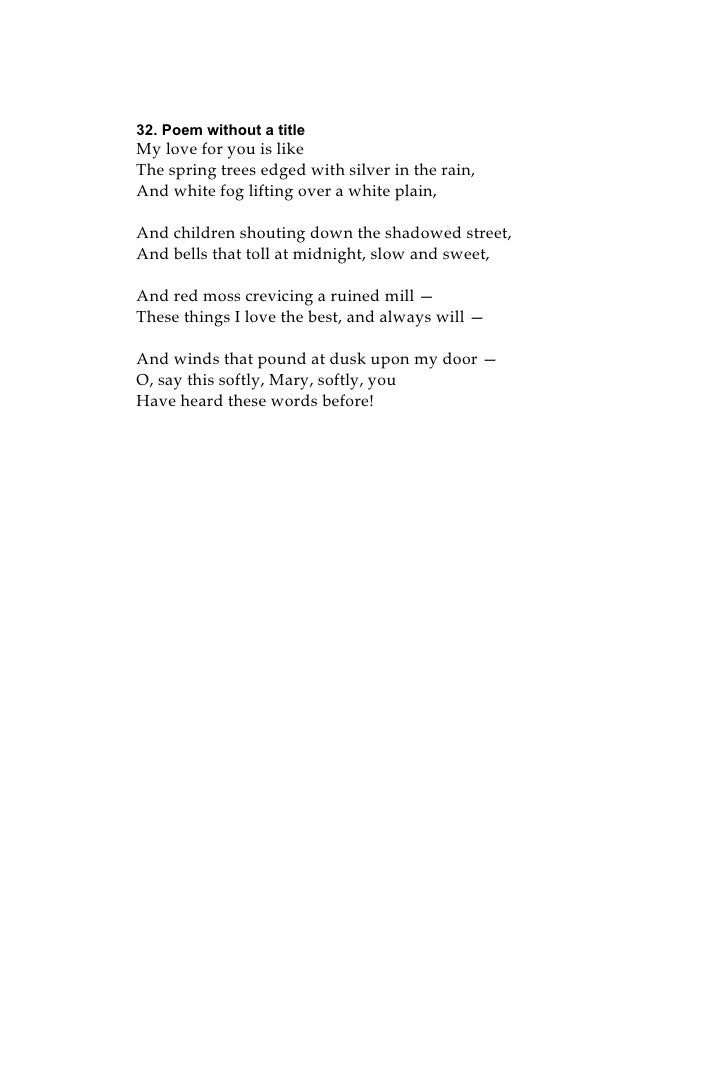 The Secret Poems Of Mary C Landon