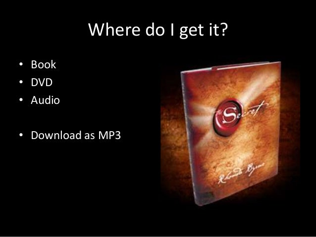 the secret by rhonda byrne pdf free download