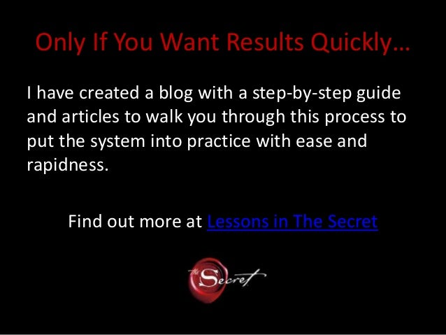 read the secret by rhonda byrne online pdf