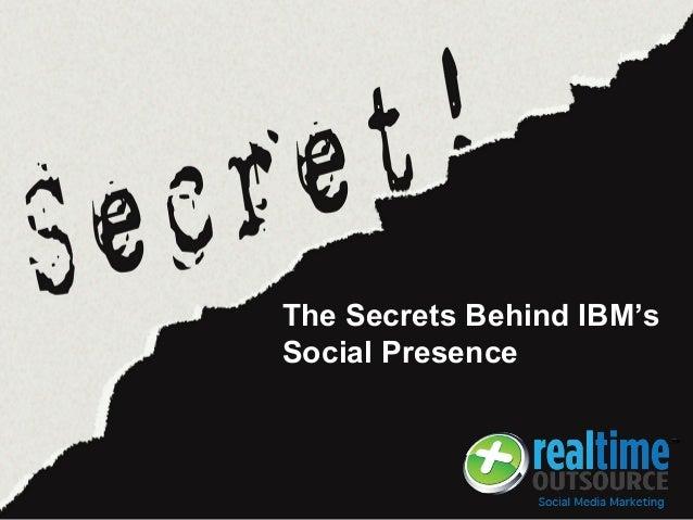 The Secrets Behind IBM's Social Presence