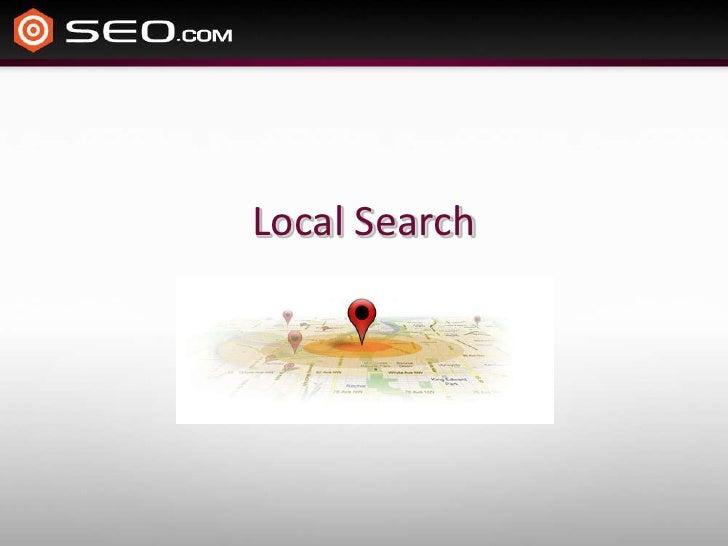 Local Search<br />