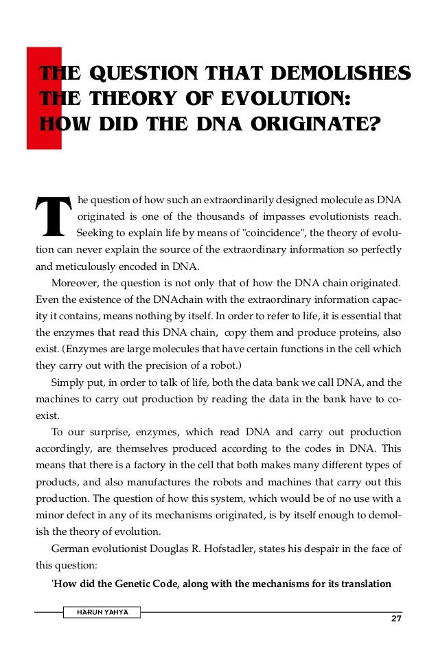 The secrets of the dna. english